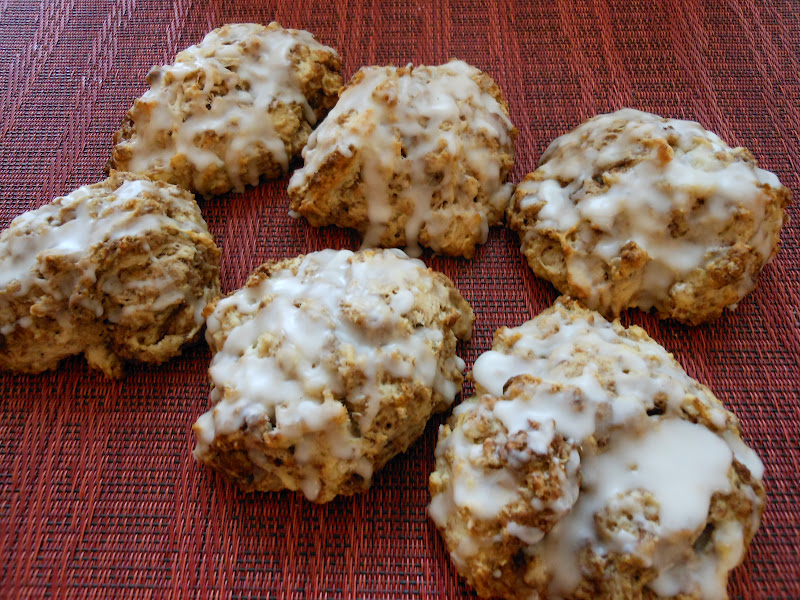 Flavors by Four: Cinnamon Bun Scones