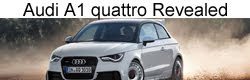 Limited edition Audi A1 quattro officially revealed