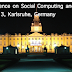 Third International Conference on Social Computing and its Applications (SCA 2013)