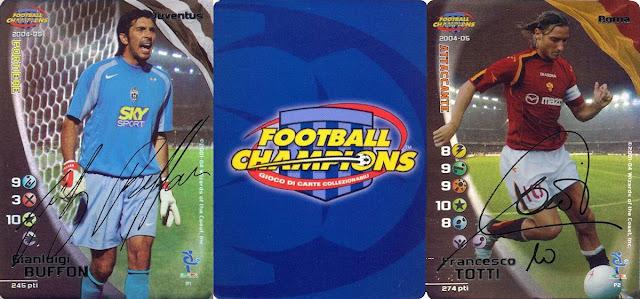 BUTTALA DENTRO SHEVCHENKO MILAN CARD FOOTBALL CHAMPIONS 2004-05 A08 AZIONE