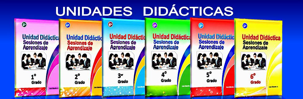 Unidades Didácticas - 2018