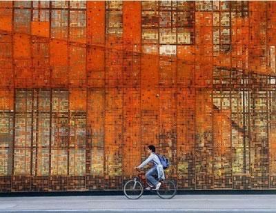 Conciencia y arquitectura envolventes en la arquitectura for Acero corten perforado oxidado
