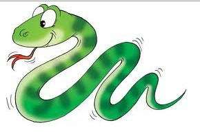 ular berjalan