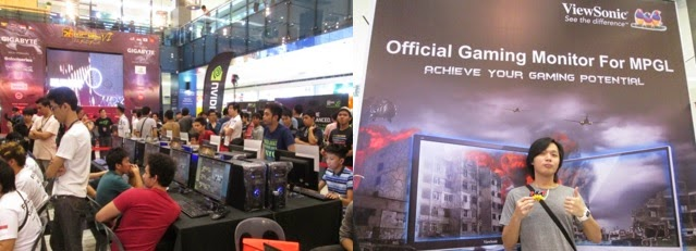 ViewSonic gaming displays at MPGL SEA Grand Finals 2014