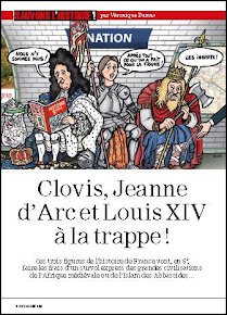 Clovis, Jeanne d Arc et Louis XIV  la trappe !