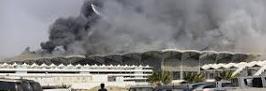 El grave incendio  con 11 heridos en la estación de Yeda obliga a cerrar la línea del AVE a la Meca