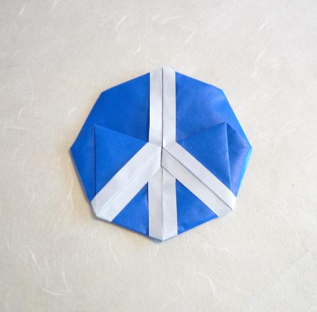 F Ziegler Origami à Nancy Et Autres Billevesées Peace Sign De