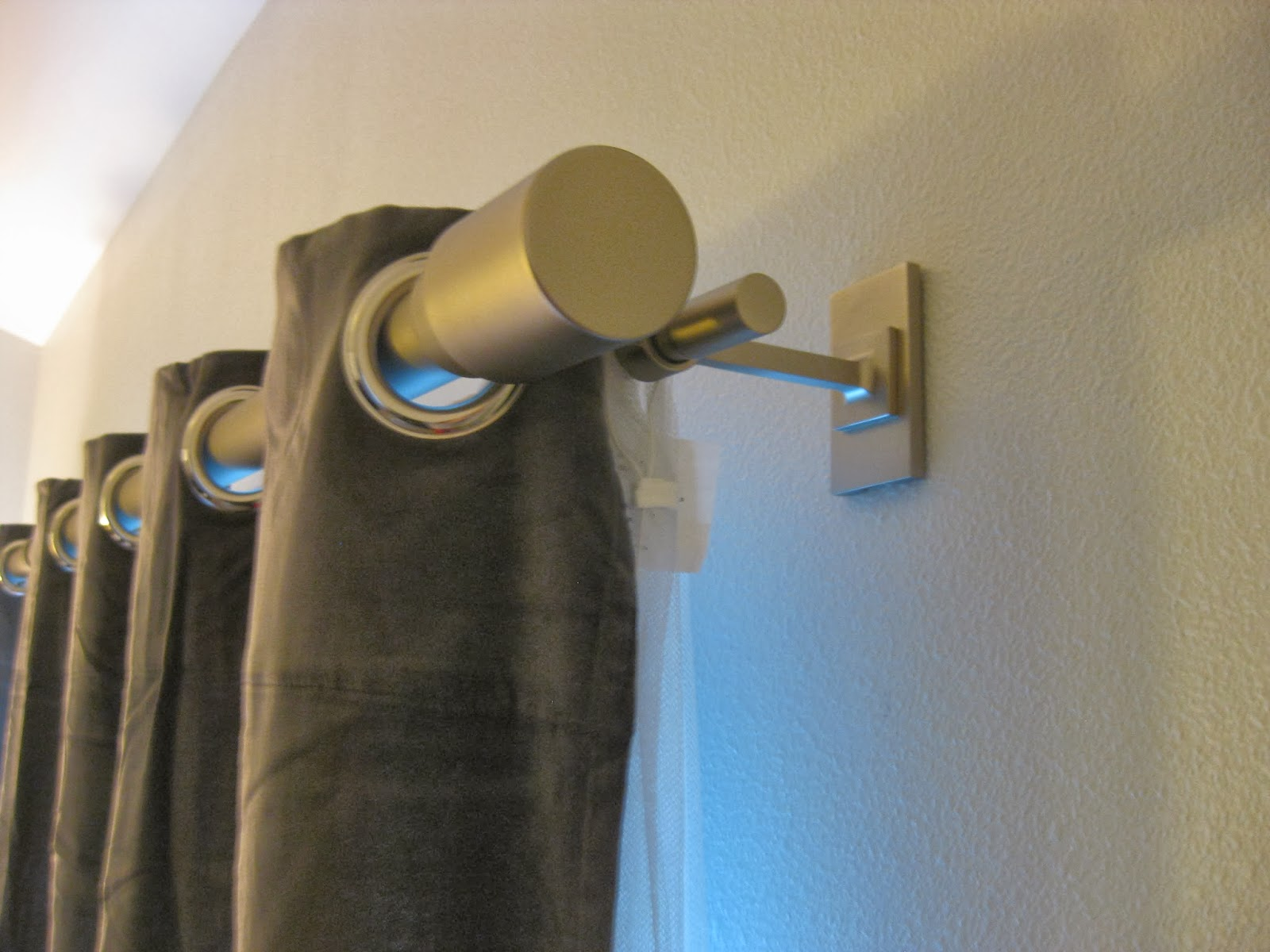 rideaux moderne lin