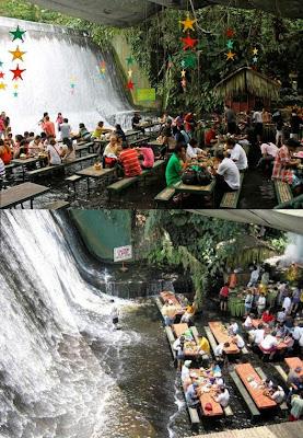 滝のレストラン