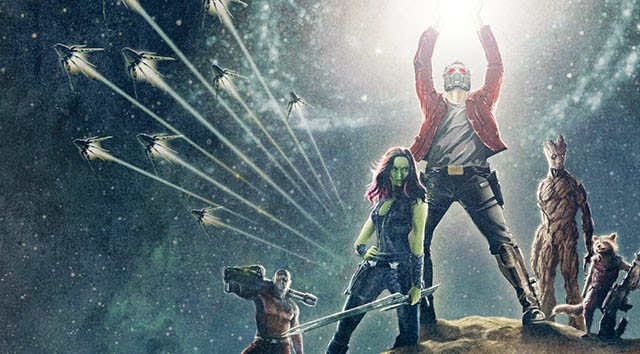 Groot Drax Rocket Gamora Star Lord