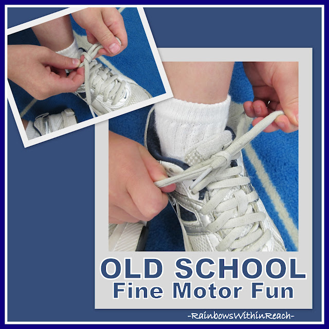 photo of: Tying Shoes: Art of Fine Motor Development
