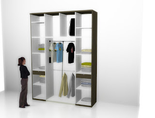 furniture semarang Almari Pakaian Besar - Big Wardrobe