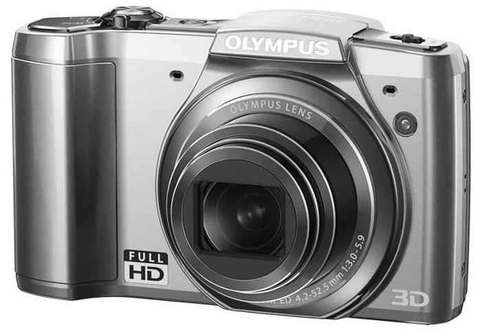 Harga Kamera Pocket Olympus SZ 20 - Silver + SDHC 8 GB terbaru