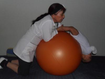 Terapia Ocupacional con Bebe en Bogota - Unidad Terapeutica Integral Bita