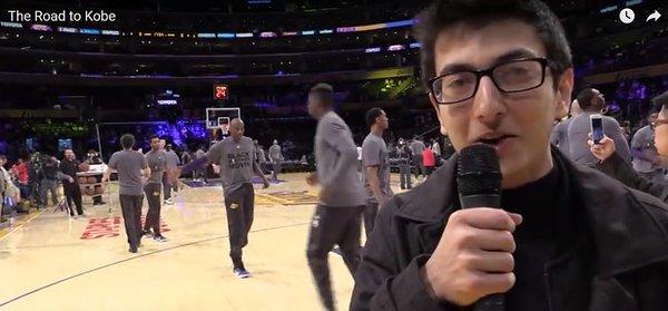 Kobe Bryant'la tanışmak...