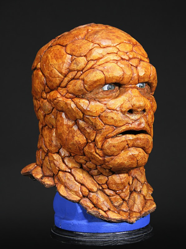Michael Chiklis Thing prosthetic head Fantastic Four