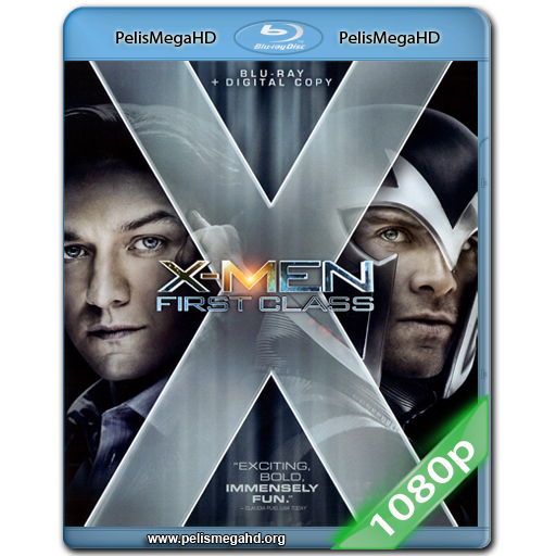 X-MEN: PRIMERA GENERACIÓN (2011) FULL 1080P HD MKV ESPAÑOL LATINO