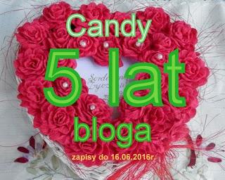 """5 urodziny bloga """"Nitką malowane"""""""