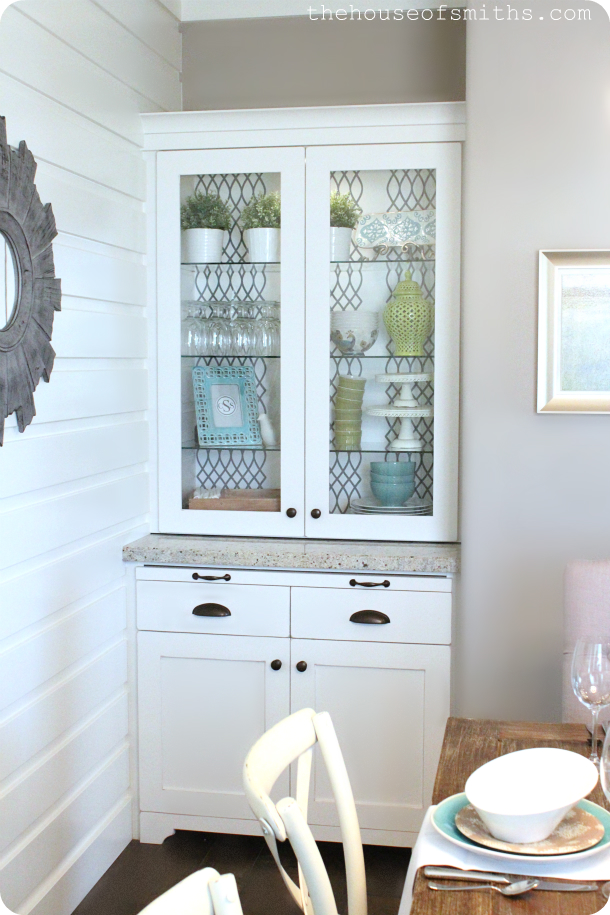 a custom dining room hutch pretty little pantry our diy