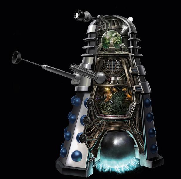 The Dork Review: Anatomy of the Dalek!