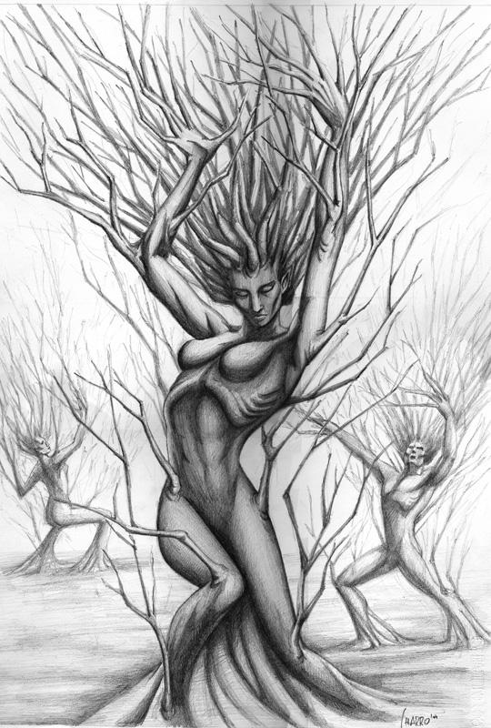 CHARRO  fantasy illustrator Dafne
