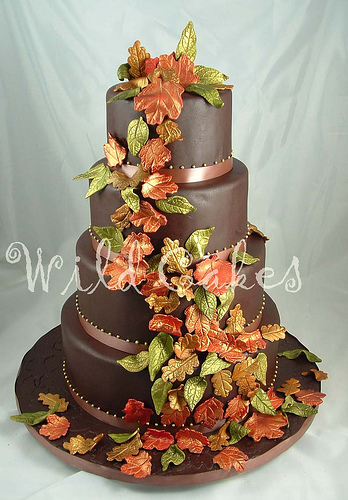 Autumn Wedding Cake Toppers7