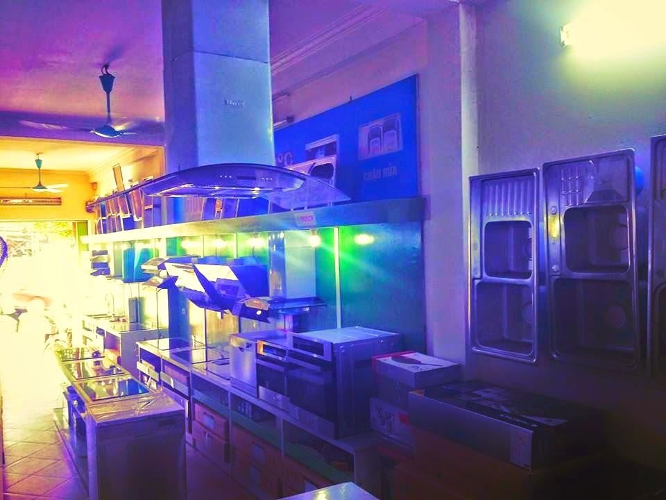Không gian lấp lánh của showroom bếp từ Munchen