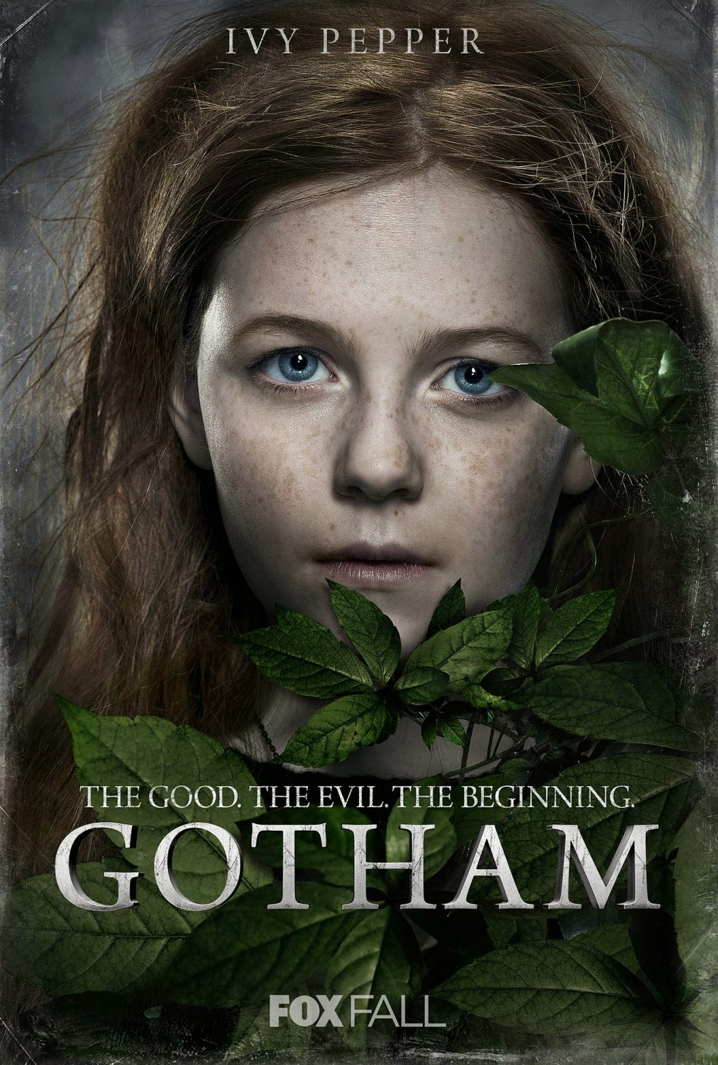 "Gotham ""The Good. The Evil. The Beginning."" Character TV Poster Set - Clare Foley as Ivy Pepper-Poison Ivy"