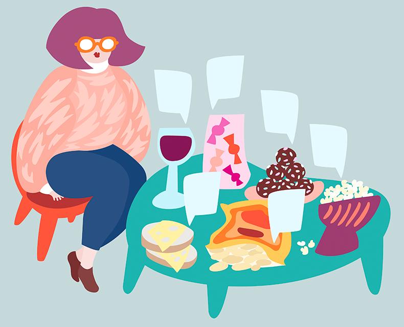 Illustration in iFORM Magazine #4 2014 -  Johanna Astrén