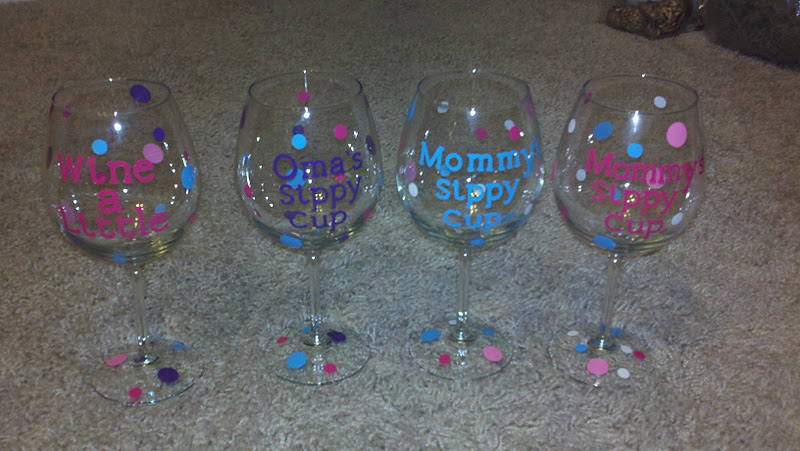 Home Life Mommys Sippy Cup - Vinyl letters for cups