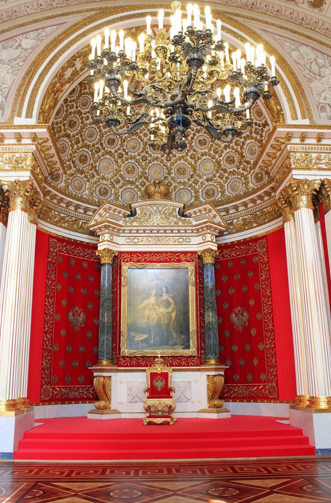 трон императора Российской империи