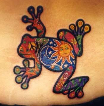 cute tattoo designs. Cute Frog Tattoo Designs 3