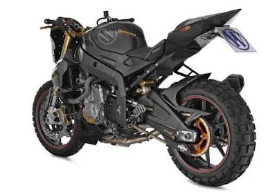 moto BMW S1000RR Wunderlich Mad Max Off-roader