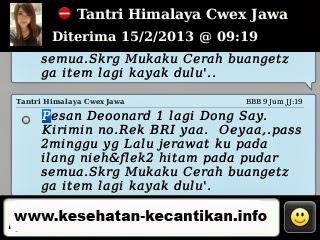 testi+deoonard+original2 Obat Cream Pemutih Wajah Muka Alami Deonard