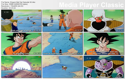 "Download Film / Anime Dragon Ball Kai Episode 32 ""Munculnya Lawan yang Kuat! Komandan Ginyu Vs Son Goku"" Bahasa Indonesia"