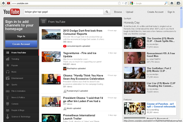 Cara Memasang Video Player Youtube di Blogspot
