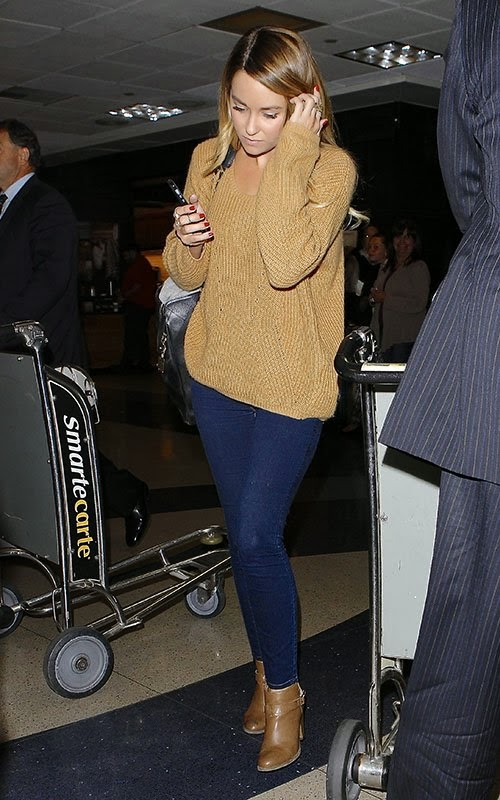 Hills Freak: Lauren Conrad Arriving at LAX Airport