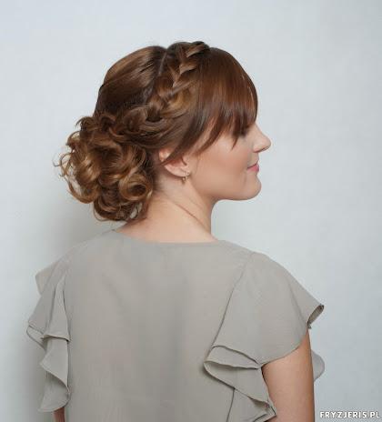 fryzura ślubna 12