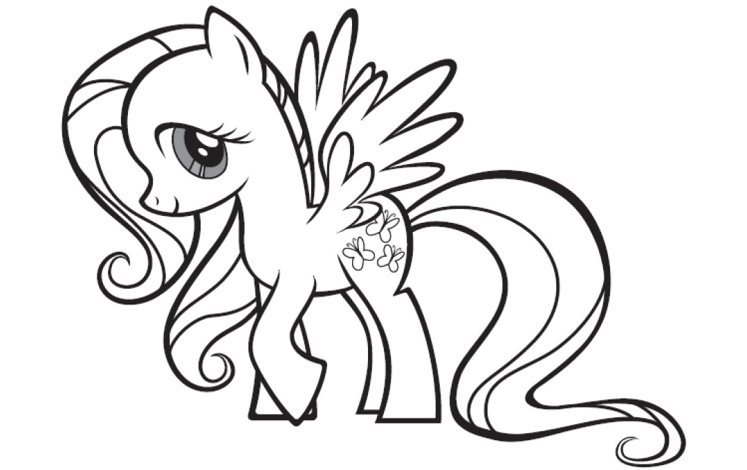 Très Kids Under 7: My Little Pony Coloring Pages AO93
