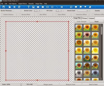 Software Toolwiz Pretty Photo: Mengedit Gambar