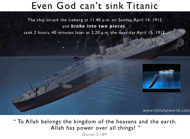 Picture Perfect Even God Can T Sink Titanic