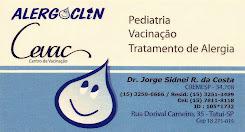 ALERGO CLIN II Cevac Centro de Vacinação Pediatria, Alergia, Vacinação