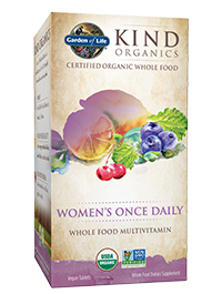 Garden+Of+Life, Kind+Organics, Women's+Once+Daily
