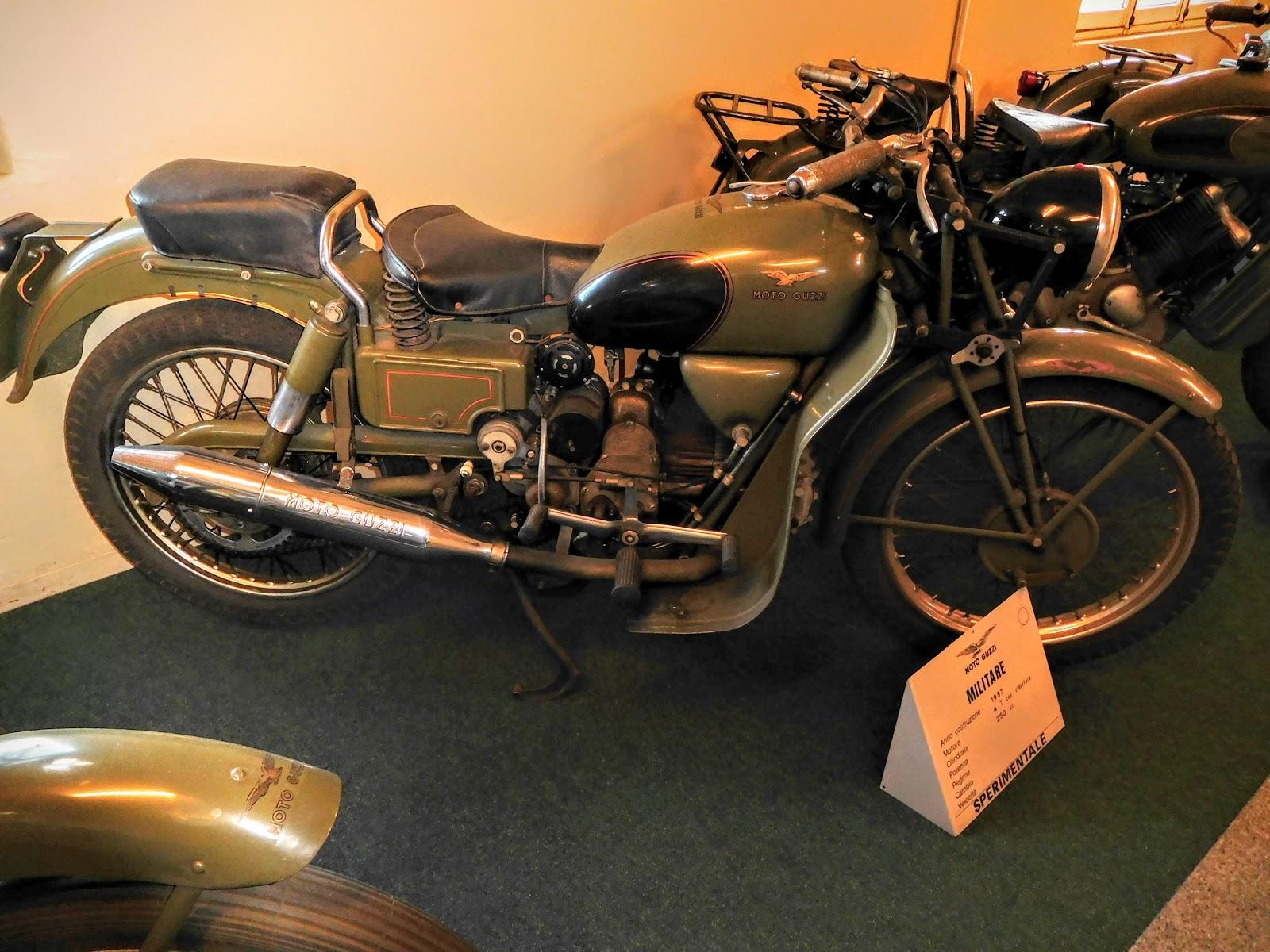 Tigho NYDucati:  1957 Moto Guzzi Militare