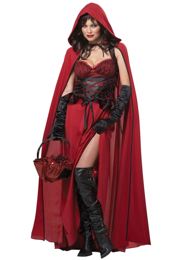 what i loved about this costume was not only its adult ness making it perfect for a grown ups only party but that it made red riding hood a bit sexy