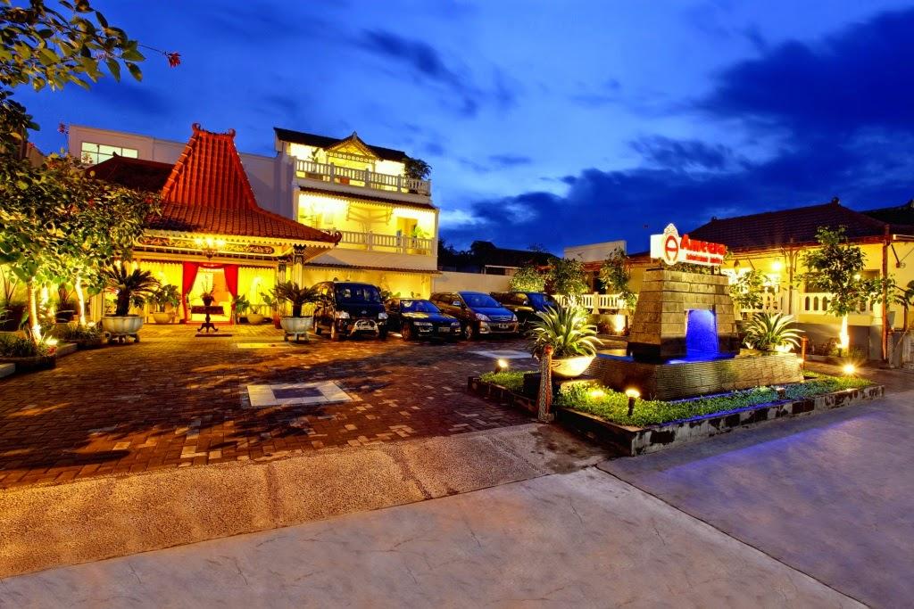 Daftar Hotel Murah di Jogja dekat Malioboro - Hotel Ameera Boutique