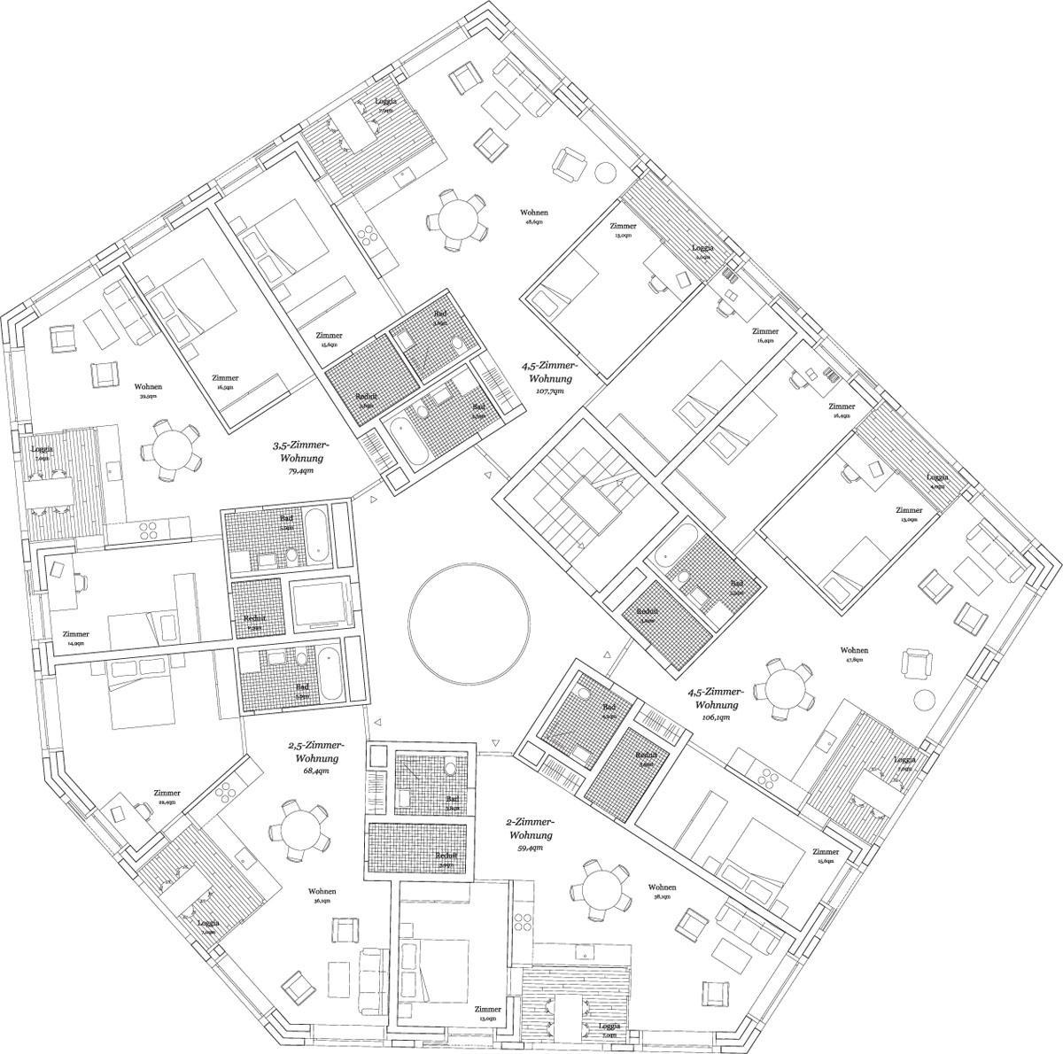 E2a eckert eckert architekten a f a s i a - Architektur plan ...