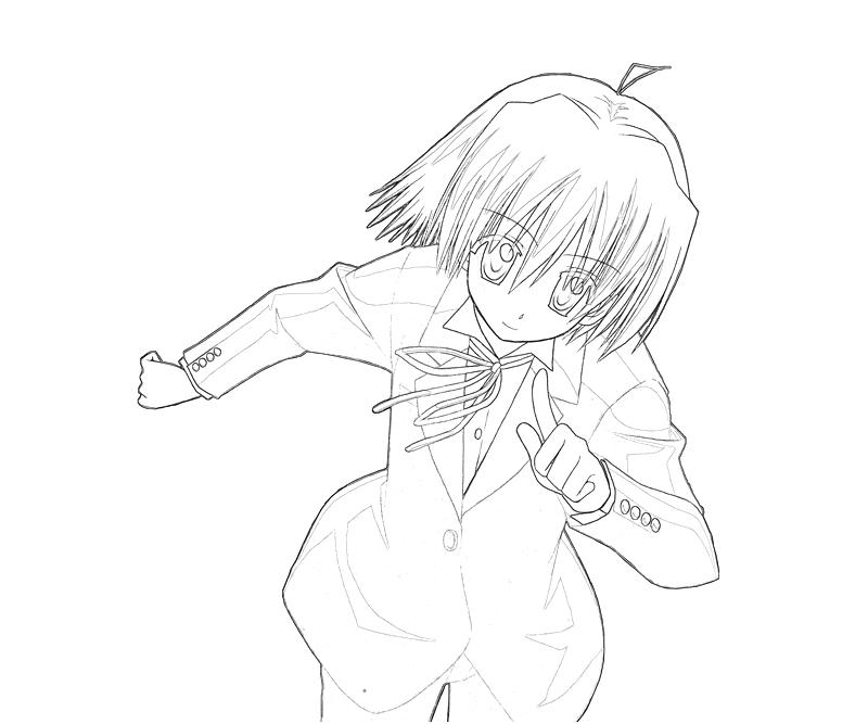 printable-hayate-ayasaki-character_coloring-pages