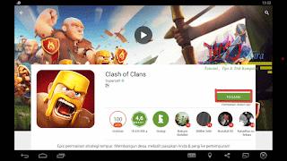 Cara Install Game Clash Of Clans Pada Komputer Wd-Kira