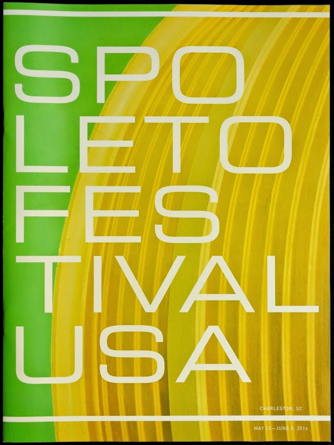 2014 Spoleto Festival USA Ticket Brochure Cover